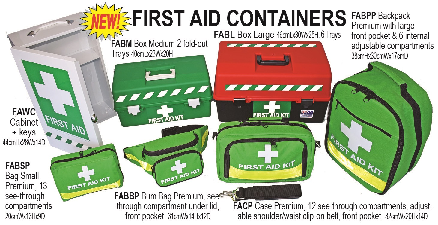 First aid worksheets