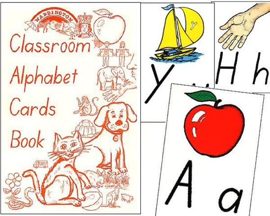 Picture of Alphabet Cards - Classic - eBook