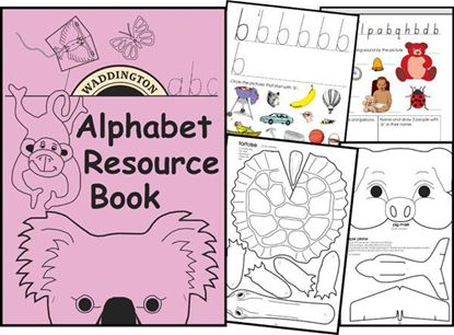 Picture of Alphabet Resource Book - eBook