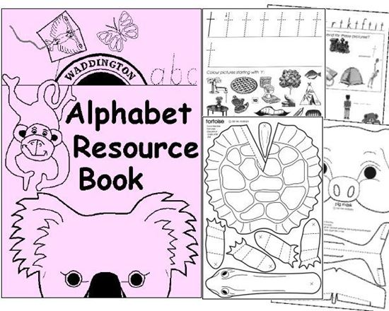 Picture of Alphabet Resource Book - Hardcopy - SPECIAL