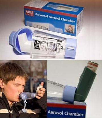 Picture of Asthma Spacer -Compact Universal 'Able' Brand