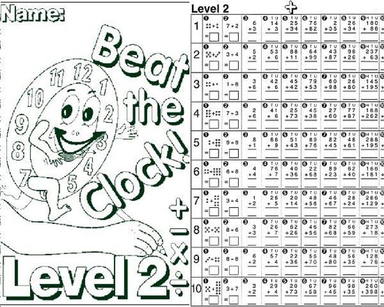 Picture of Beat the Clock! Level 2 - Hardcopy