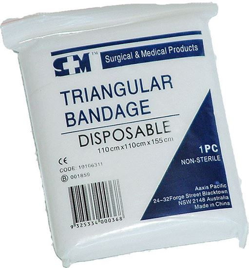 Picture of Bandage -Triangular Disposable Poly