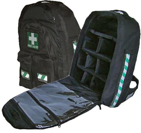 Picture of First Aid --Backpack Deluxe Black