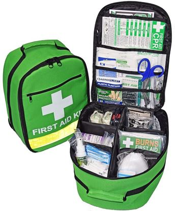 Picture of First Aid --Backpack Premium Green