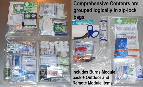 Picture of First Aid Kit -Home/Off Road  CONTENTS ONLY