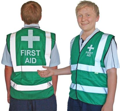 Picture of First Aid --Vest Corporate Regular