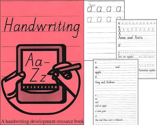 Picture of Handwriting Aa to Zz eBook