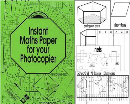 Picture of Instant Maths Paper for Photocopier eBook