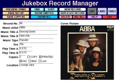 Picture of Jukebox Record Manager