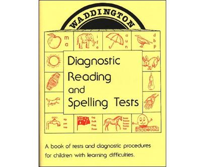 Picture of Reading & Spelling Tests 1st Edition Hardcopy - Superseded - See 3rd Edition