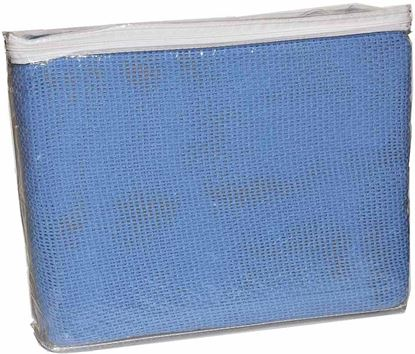 Picture of Blanket -Single Bed Hospital Blue