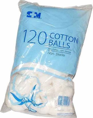 Picture of Cotton -Balls 120 Pack