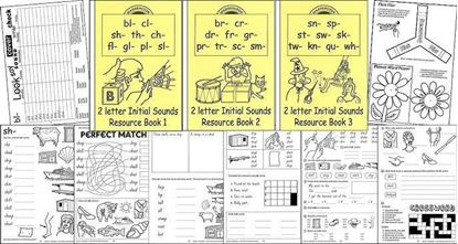 Picture of 2 Letter Initial Sounds eBk Set 1-3