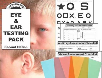 Picture of Eye & Ear Test Pack 2nd Edition Hardcopy + Overlays
