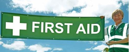 Picture of First Aid --Banner 2m x .5m