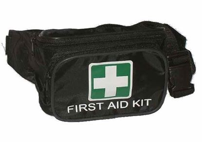 Picture of First Aid --Bum Bag Black