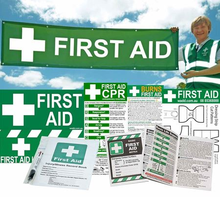 Picture for category First Aid Signs & Stationery