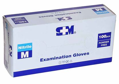 Picture of Gloves -Nitrile  Medium 100