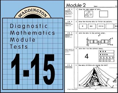 Picture of Maths Module Tests 1-15  eBook