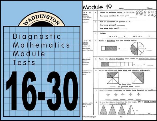Picture of Maths Module Tests 16-30 eBook