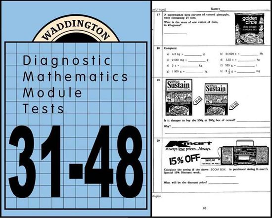 Picture of Maths Module Tests 31-48 eBook