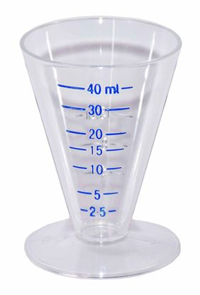 Picture of Medicine Measure 40ml Conical