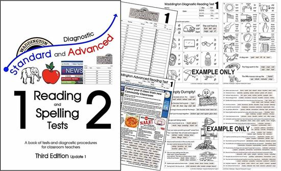 Picture of Reading & Spelling Tests 3rd Edition (Update1) SITE