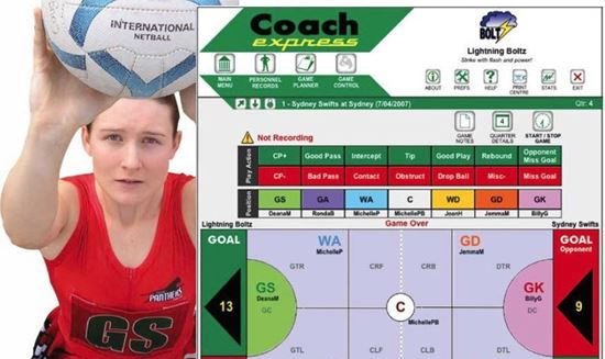 Picture of CoachExpress Netball