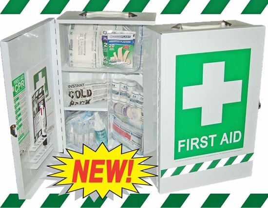 Picture of First Aid Kit -Safe Work Australia  Essential  Wall Cabinet