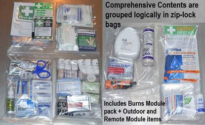 Picture of First Aid Kit -Safe Work Australia Comprehensive   CONTENTS ONLY