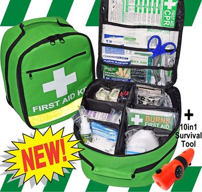 Picture of First Aid Kit -Safe Work Australia Comprehensive Backpack Premium