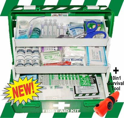 Picture of First Aid Kit -Safe Work Australia Comprehensive Box Medium