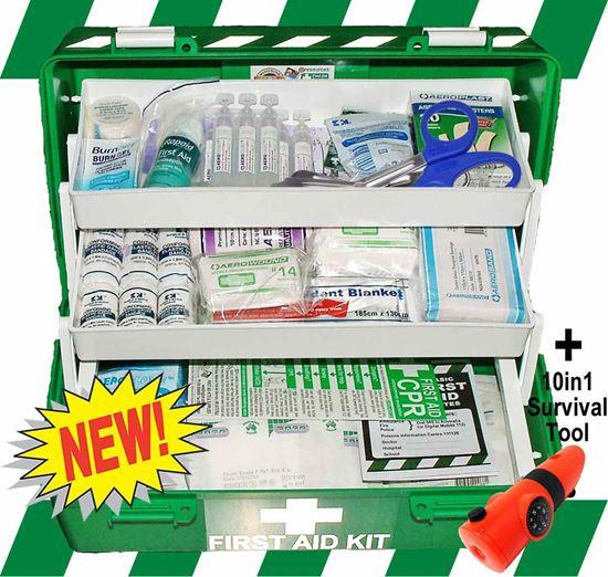 Picture of First Aid Kit -Safe Work Australia Comprehensive Box Medium
