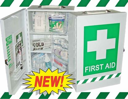 Picture of First Aid Kit -Safe Work Australia Comprehensive Wall Cabinet Large
