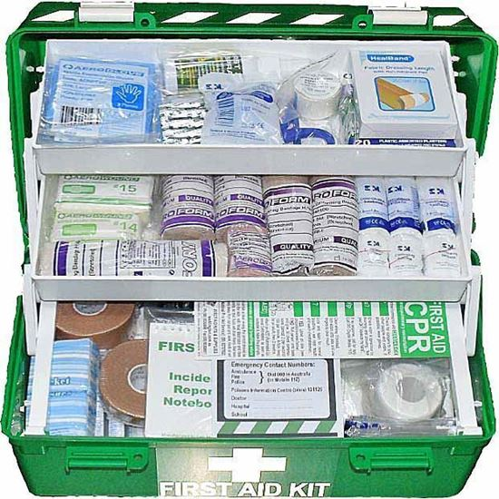 Picture of First Aid Kit -Sports Large  Box Medium