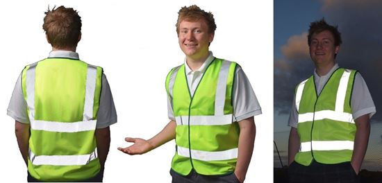 Picture of Vest -Hi-Vis D/N REGULAR -NO PRINT - WEBSITE SPECIAL