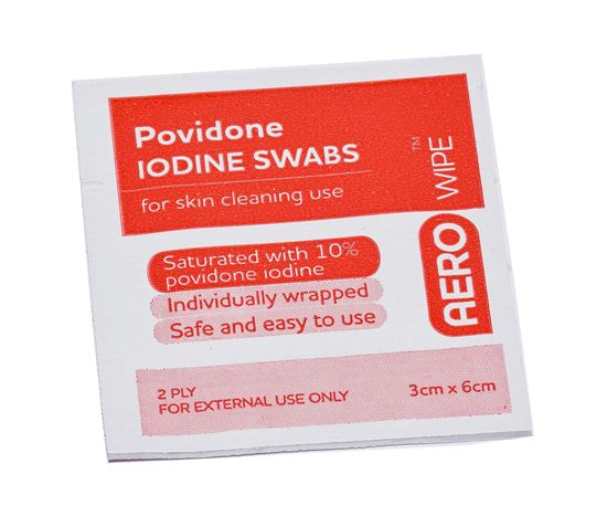 Picture of Antiseptic -Povidone-iodine Swab