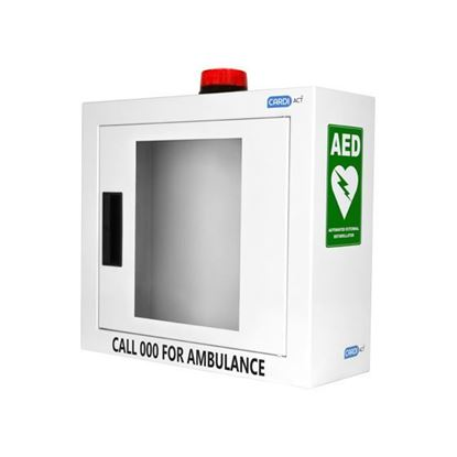 Picture of AED Wall Cabinet with Alarm and Strobe Light