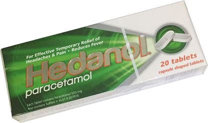 Picture of Analgesic -Tablets  20 Paracetamol