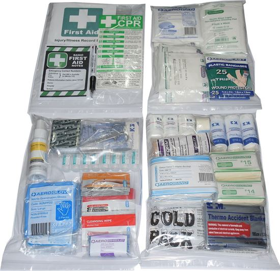 Picture of First Aid Kit -Safe Work Australia  Essential     CONTENTS ONLY