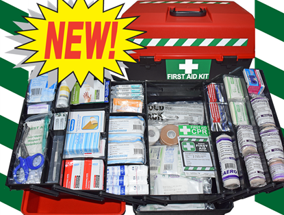 Picture of First Aid Kit -Sports Large Box Large