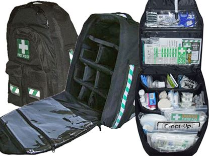 Picture of First Aid Kit -Education  Backpack Deluxe