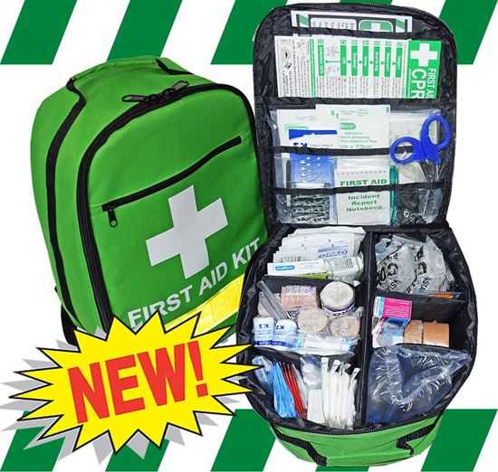 Picture of First Aid Kit -Sports Large  Backpack Premium