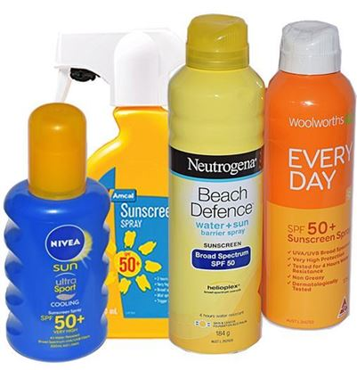 Picture of Sunscreen  -Spray SPF 50+