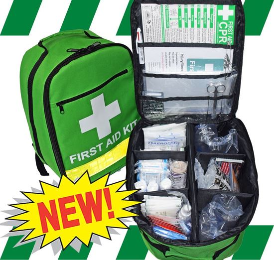Picture of First Aid Kit -Safe Work Australia  Essential  Backpack Premium