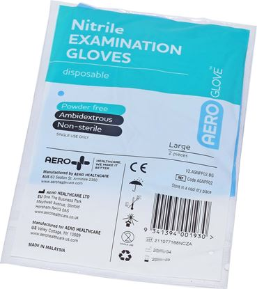 Picture of Gloves -Nitrile   2 pack large