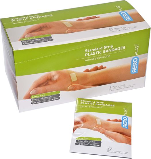 Picture of Dressing -Strips Regular Plastic 25