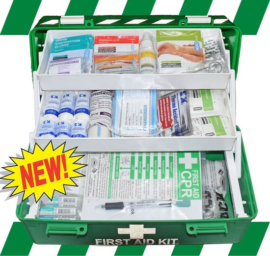 Picture of First Aid Kit -Safe Work Australia  Essential  Box Medium