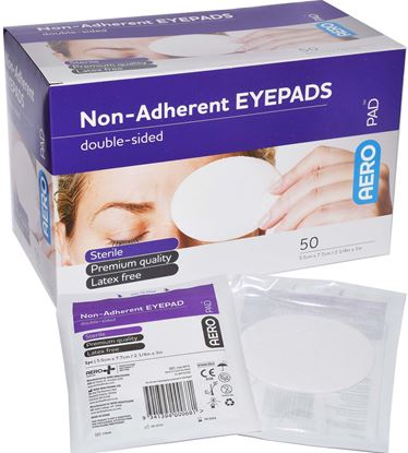 Picture of Eye Pad -Sterile individual wrap